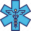 clinic, first aid, healthcare, hospital medical icon