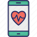 health app, healthcare app, medical app, mobile app icon