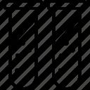 culture tube, experiment, sample tube, test tube icon
