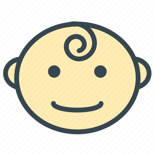 baby, care, face, happy, smile icon
