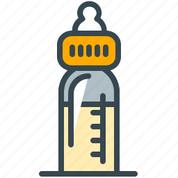 baby, bottle, care, feed, feeding, milk icon