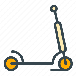 activity, baby, care, play, scooter, transportation icon