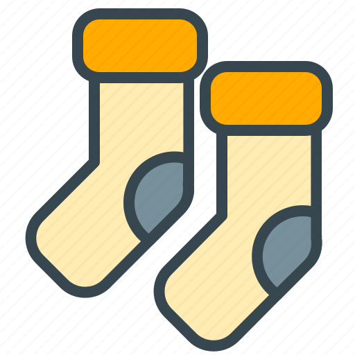 baby, care, child, clothes, socks icon