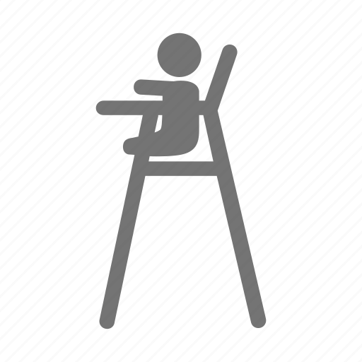 baby, boy, chair, child, infant, kid, seat icon