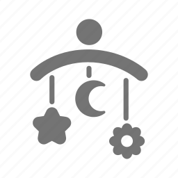 baby, crib mobile, infant, kid, mobile, newborn, toy icon