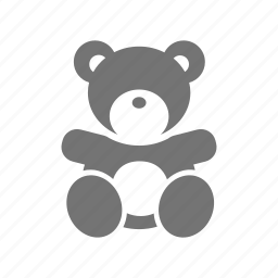 bear, doll, girl, infant, kid, teddy, toy icon
