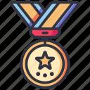 award, badge, medal, winner