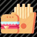 canteen, fast, food, restaurant
