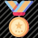 award, badge, medal, reward