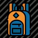 backpack, bag, education, school, travel