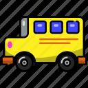 bus, transport, vehicle, transportation, travel