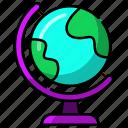globe, world, earth, global, network