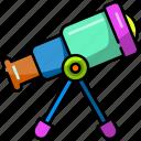 telescope, astronomy, space, planet