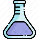 chemistry, science, flask, chemical