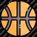 basketball ball, sport, basketball, hoop