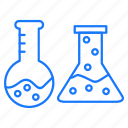 chemical, education, flask, science, studies icon