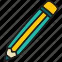 education, pencil, drawing, art, draw, write, school
