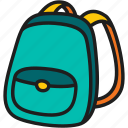 education, school bag, school, bag, backpack, baggage, kid