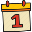 education, calendar, date, note, year, month