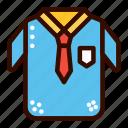 boy, school, tie, uniform