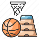 basketball, exercise, health, physical, run, sport, subjects icon