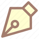 ballpoint, pen, pen tool, tool icon