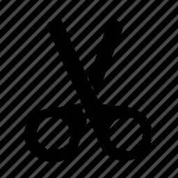 clip, cut, devide, trim icon