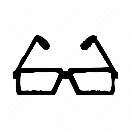 eye, find, glasses, search, view, vision icon
