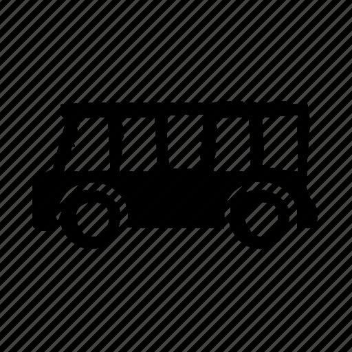 schoolbus, traffic, transport, vehicle icon
