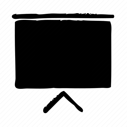 business, chart, marketing, whiteboard icon
