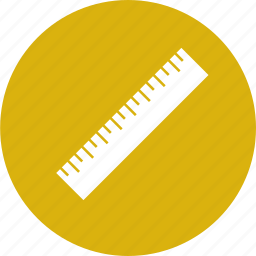 learn, ruler, school, study icon