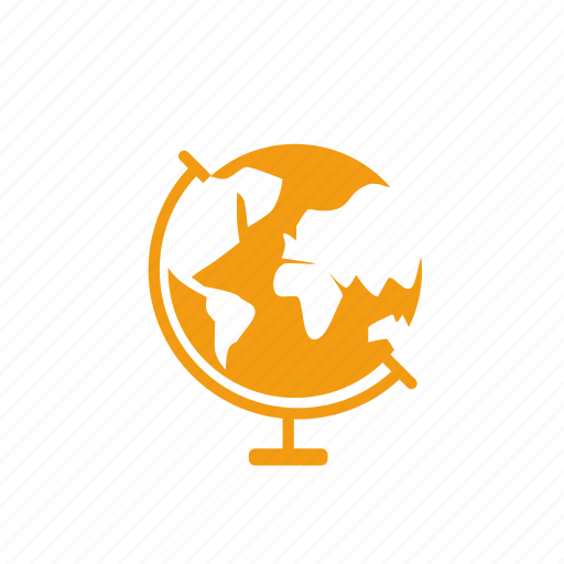 geographic, learn, school, study, subject icon