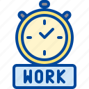 alarm, clock, job, time, work