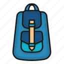 bag, bagpack, cute, purse icon