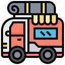 car, caravan, transport, vehicle icon