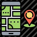 gps, location, map, navigation, pin, smartphone