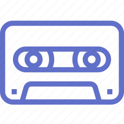 audio, cassette, music, record, video icon