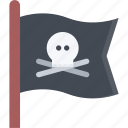 bandit, flag, pirate, pirates, sailing, sea icon