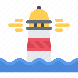 bandit, lighthouse, pirate, pirates, sailing, sea icon