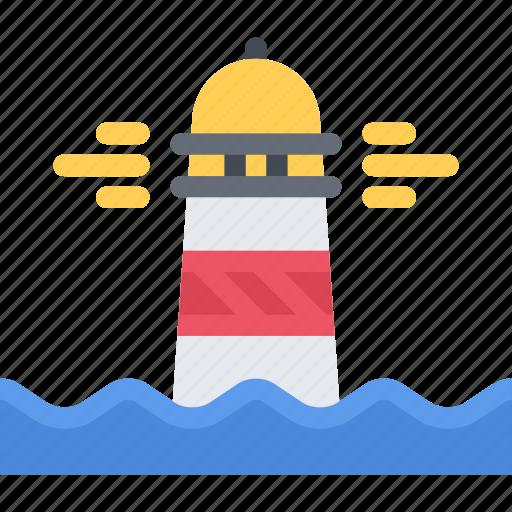 bandit, lighthouse, pirate, pirates, sailing, sea icon