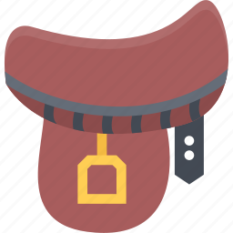 bandit, bandits, cowboy, saddle, wild west icon
