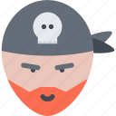 bandit, pirate, pirates, sailing, sailor, sea icon