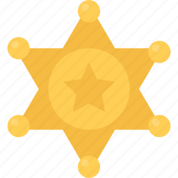 badge, bandit, bandits, cowboy, sheriffs, wild west icon