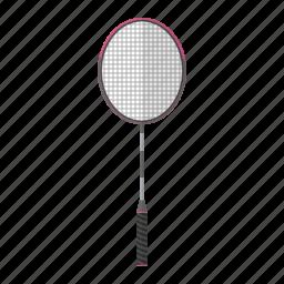active, badminton, health, olympic, racket, slash, sport, swing icon