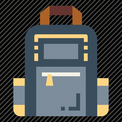 Backpack, bag, education, school icon - Download on Iconfinder