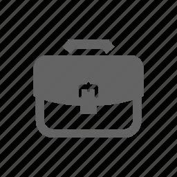 bag, baggage, business, container, document, luggage, portfolio icon