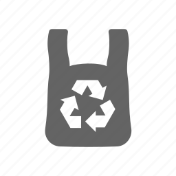 bag, container, plastic, recycle, recycled, shop, store icon