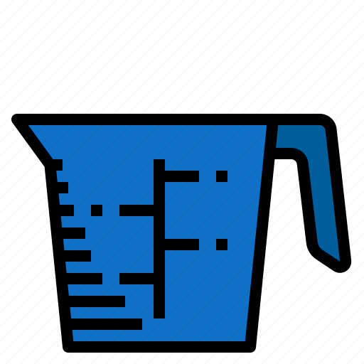cup, measure icon