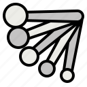 measure, spoon icon