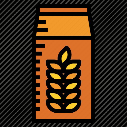 bag, wheat icon